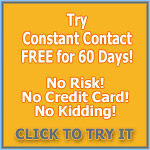 Constant Contact 60 Day FREE Offer